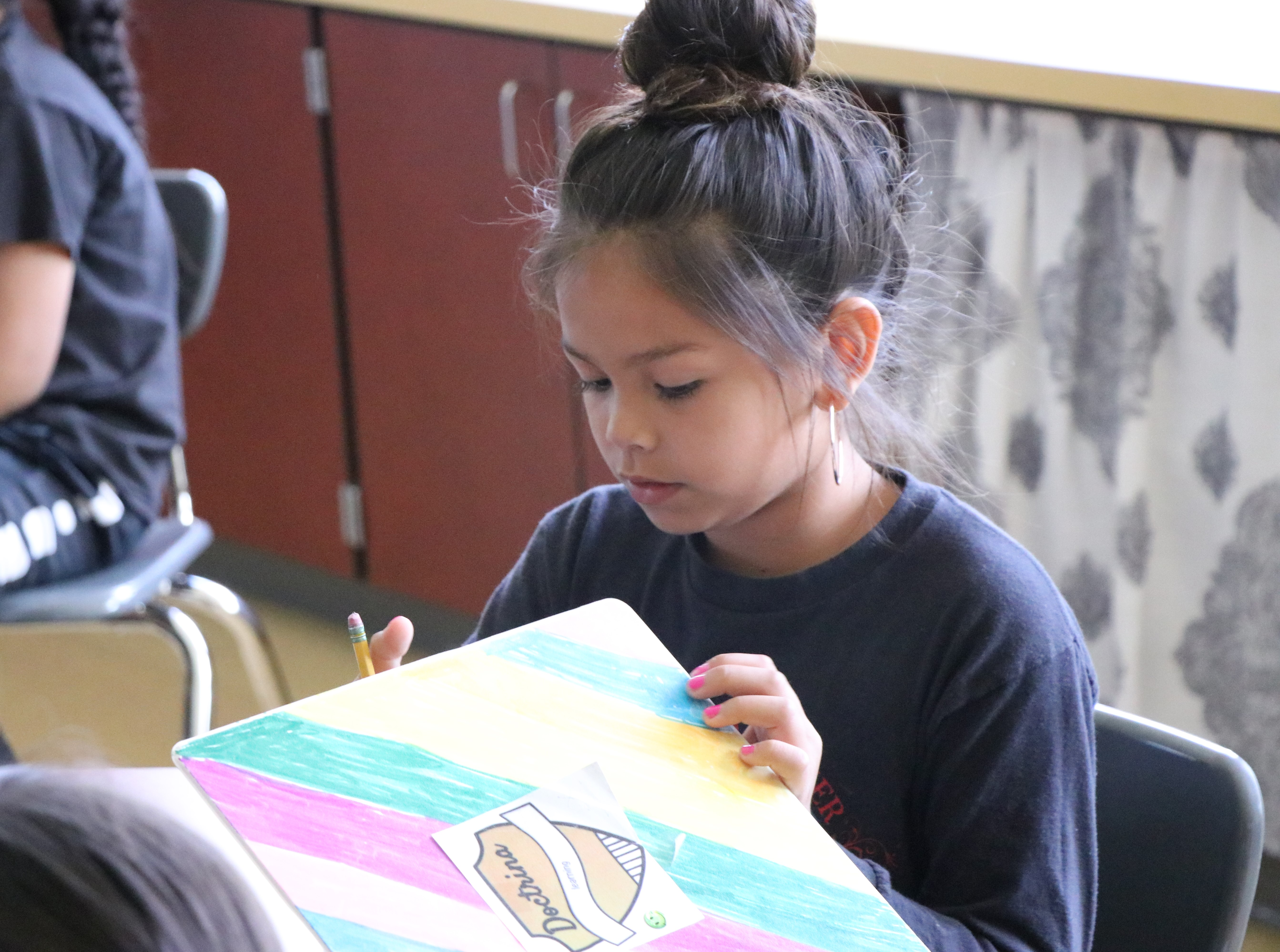 Warm Springs K-8 Academy Fourth-grader Yadira Stacona