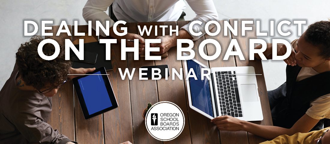 Dealing with Conflict on the Board Webinar