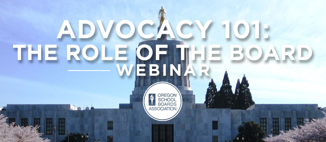 Advocacy 101: The Role of the Board Chair Webinar