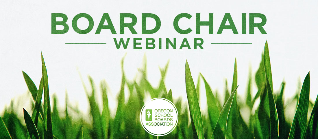 Board Chair Webinar
