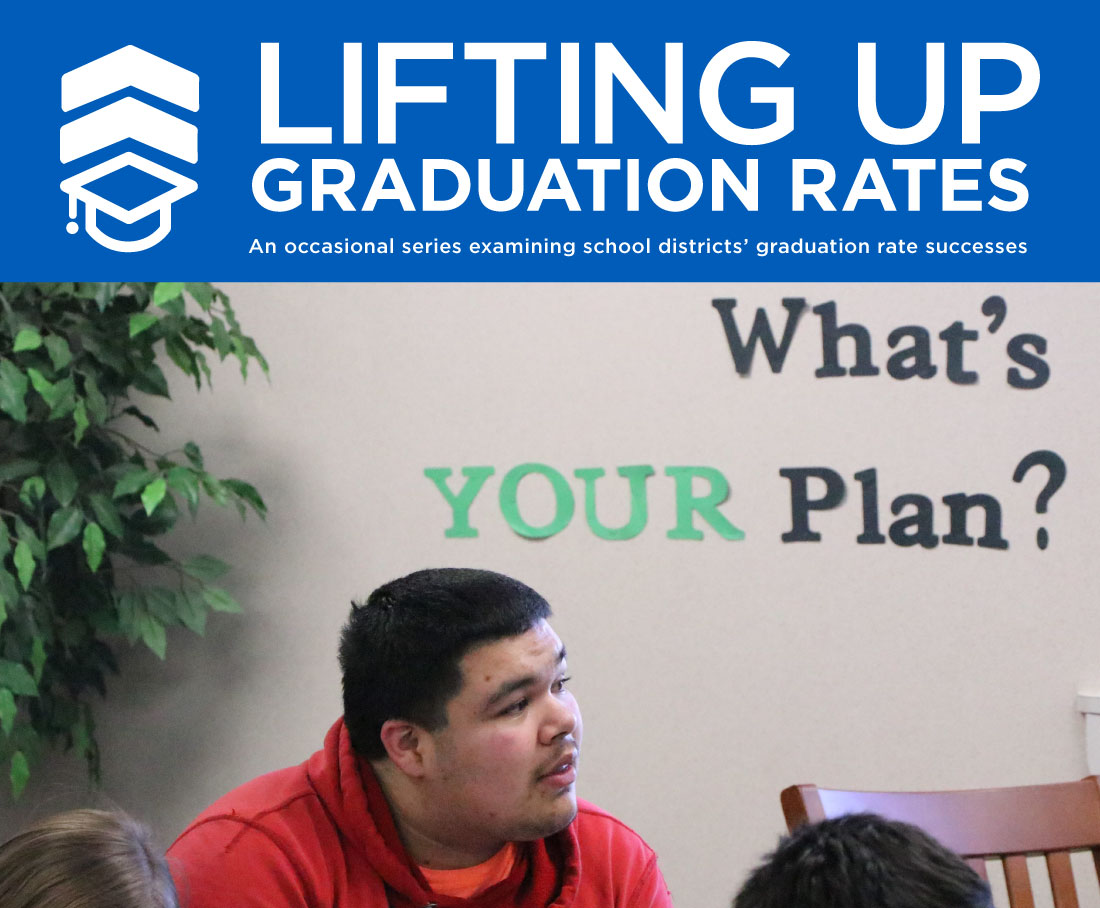 Umatilla High senior Juan Atilano connects finishing high school with getting a good job.
