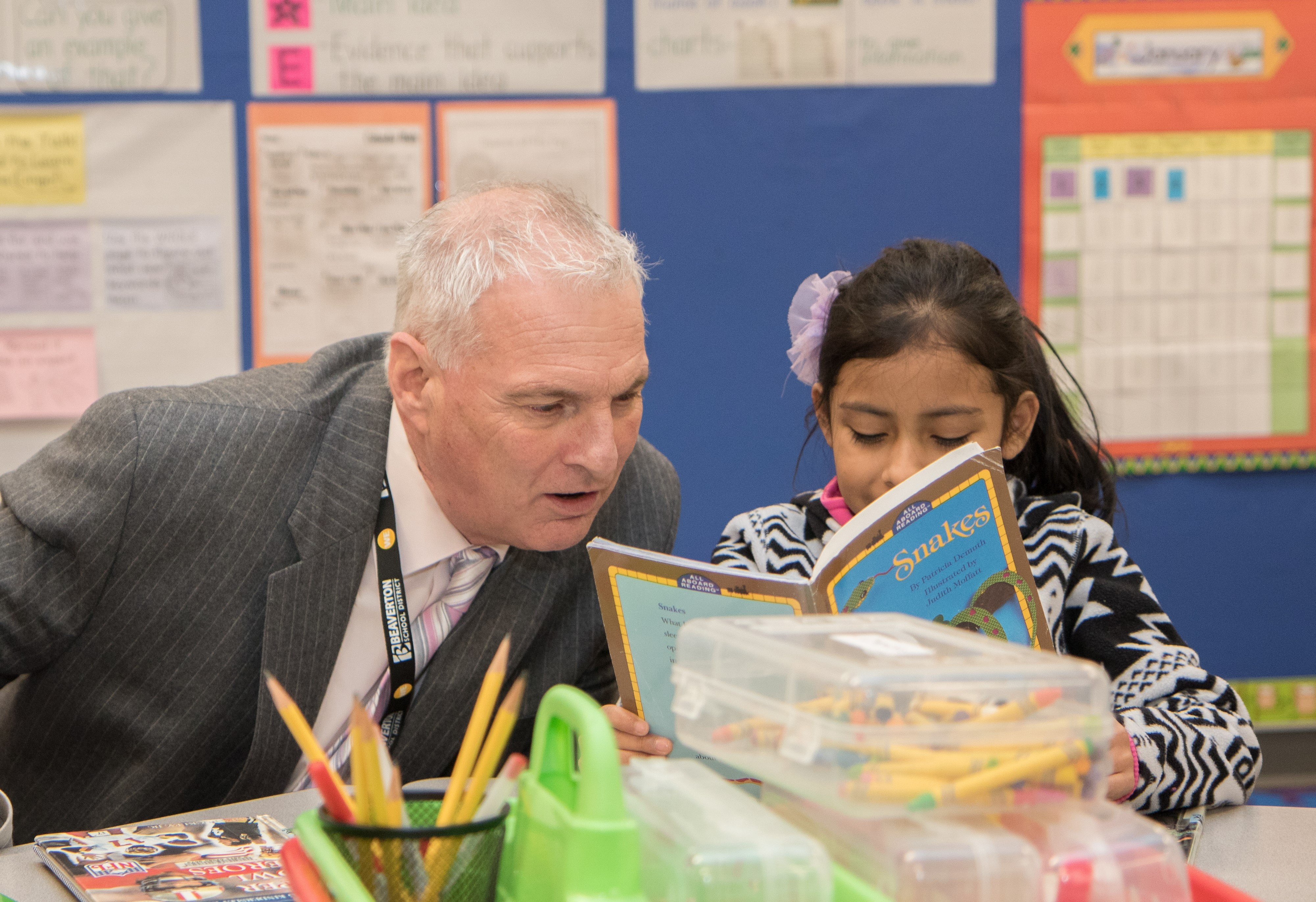 Beaverton Superintendent Don Grotting said the Student Success Act will push districts to take a hard look at whether their programs are making a difference for students. (Photo courtesy of Beaverton School District / 2016)
