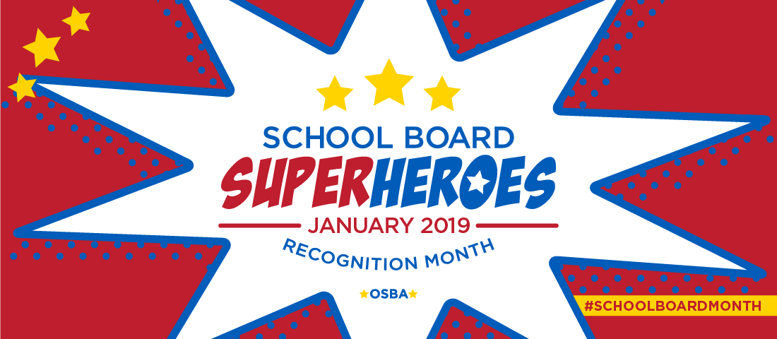 2019 School Board Member Recognition Month Web Banner