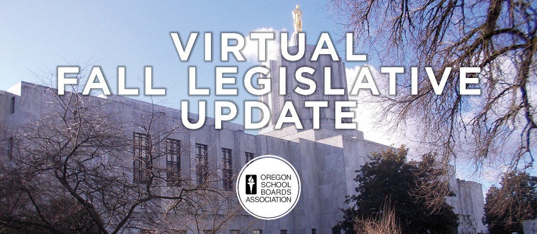 2020 Virtual Fall Legislative Update