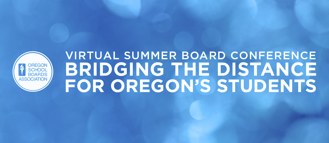 Summer Board Virtual Conference 2020 Banner